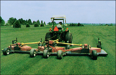 Finishing-mower - Contact us in Haymarket, Virginia, for quality turf grass, grass sod, and landscape material.